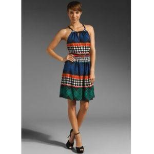 Trina Turk Multicolor Chazz Printed Dress